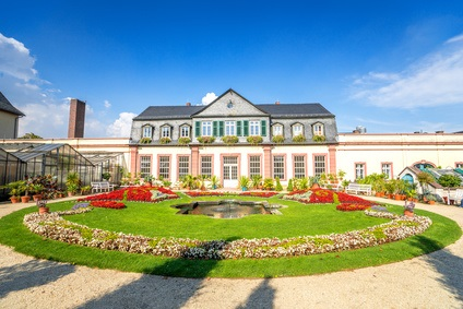 Orangerie in Bad Homburg.